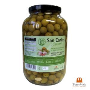 aceitunas_manzanilla_c-hueso_ajoyromero_SanCarlos_gourmet